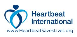 logo for Heartbeat International Foundation