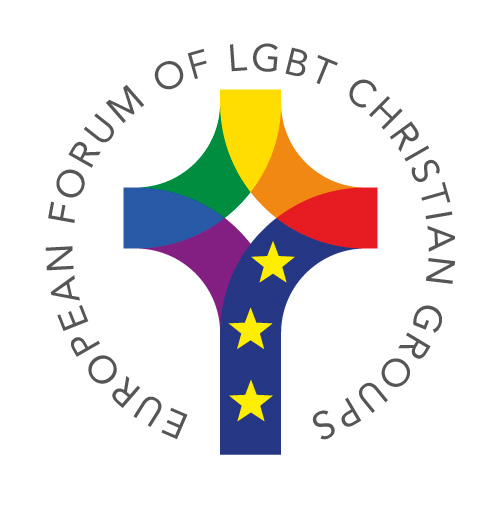 logo for European Forum of Lesbian, Gay, Bisexual and Transgender Christian Groups