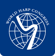 logo for World Harp Congress
