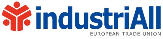 logo for industriAll European Trade Union