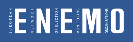 logo for European Network of Election Monitoring Organizations