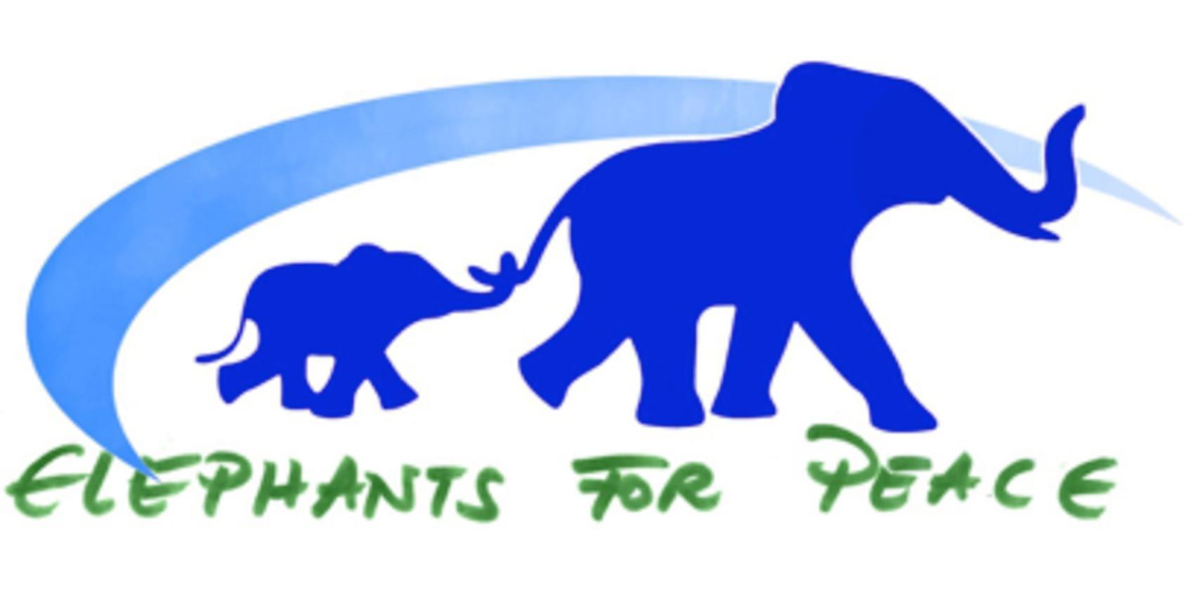 logo for Elephants for Peace
