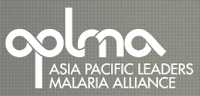 logo for Asia Pacific Leaders Malaria Alliance