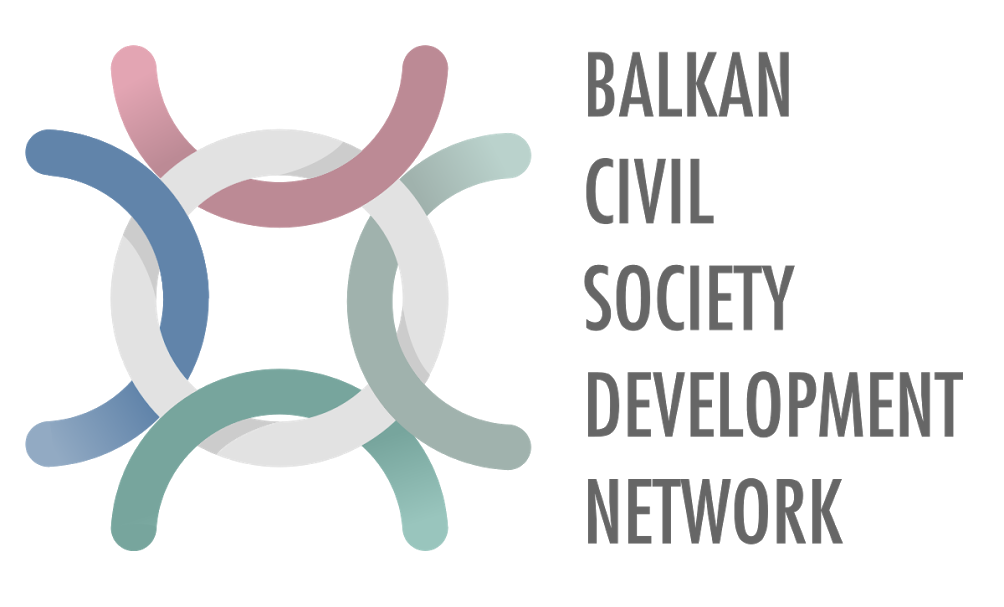 logo for Balkan Civil Society Development Network