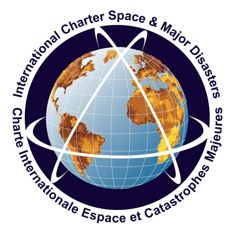 logo for International Charter Space and Major Disasters
