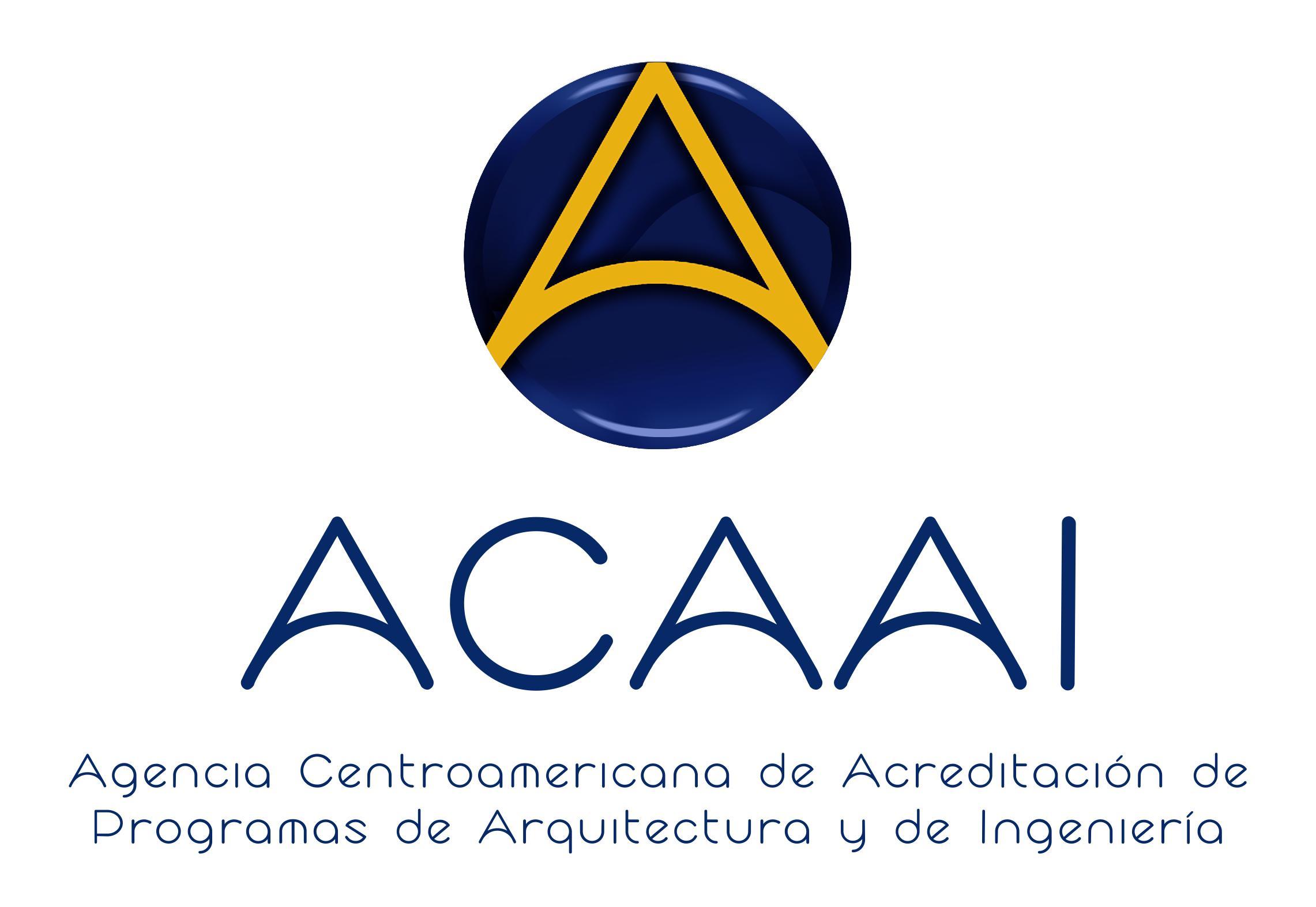 logo for Agencia Centroamericana de Acreditación de Programas de Arquitectura y de Ingenieria
