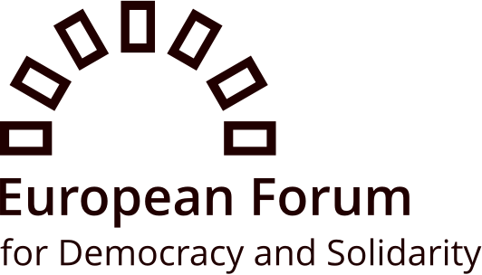 logo for European Forum for Democracy and Solidarity