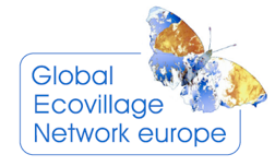 logo for Global Ecovillage Network - Europe