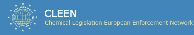 logo for Chemical Legislation European Enforcement Network