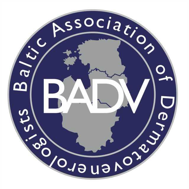 logo for Baltic Association of Dermatovenereologists