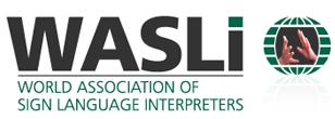 logo for World Association of Sign Language Interpreters