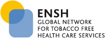 logo for ENSH-Global Network for Tobacco Free Health Care Services