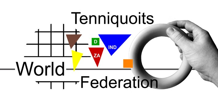logo for World Tenniquoits Federation