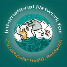 logo for International Network for Circumpolar Health Research