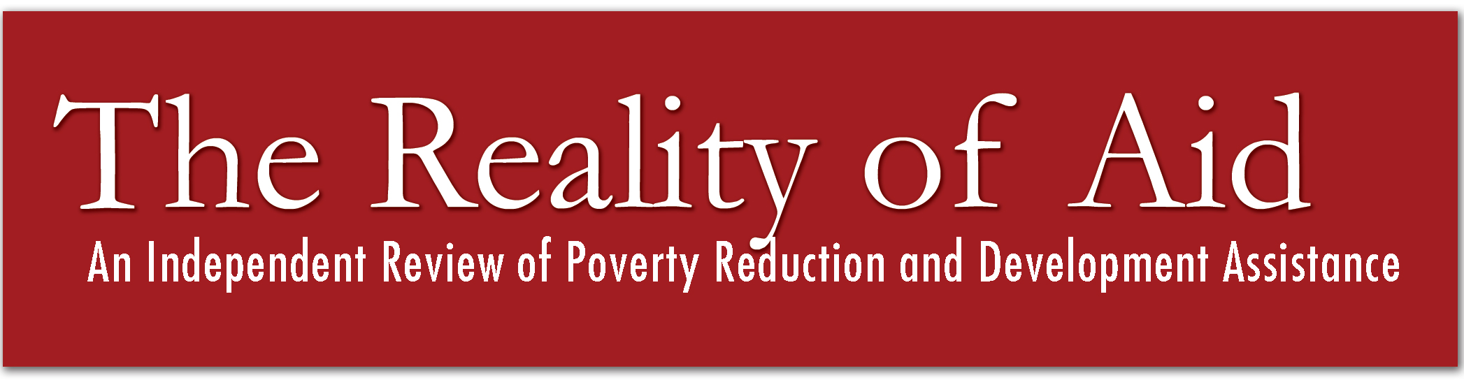 logo for The Reality Of Aid