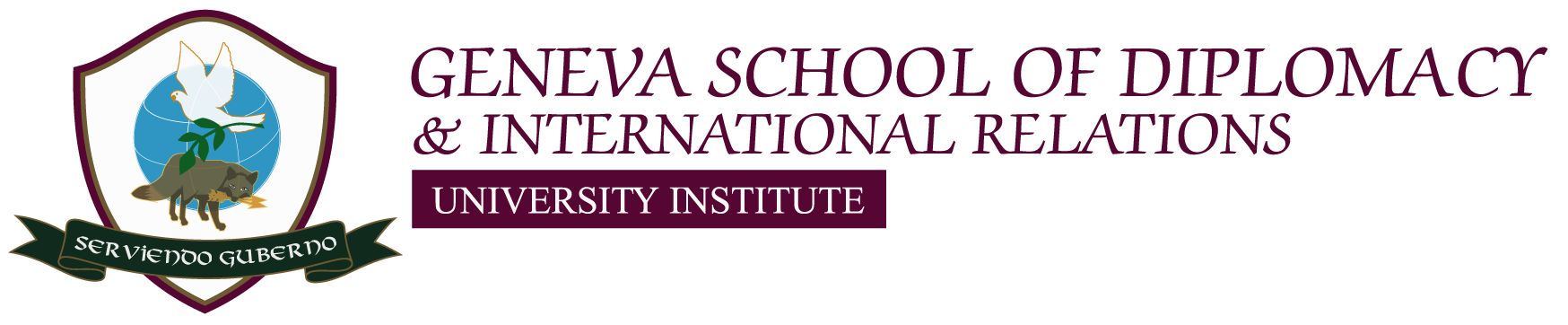 logo for Geneva School of Diplomacy and International Relations