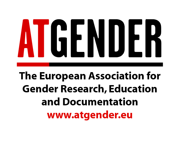logo for The European Association for Gender Research, Education and Documentation