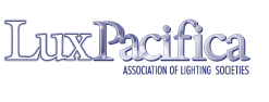 logo for Lux Pacifica - Association of Lighting Societies