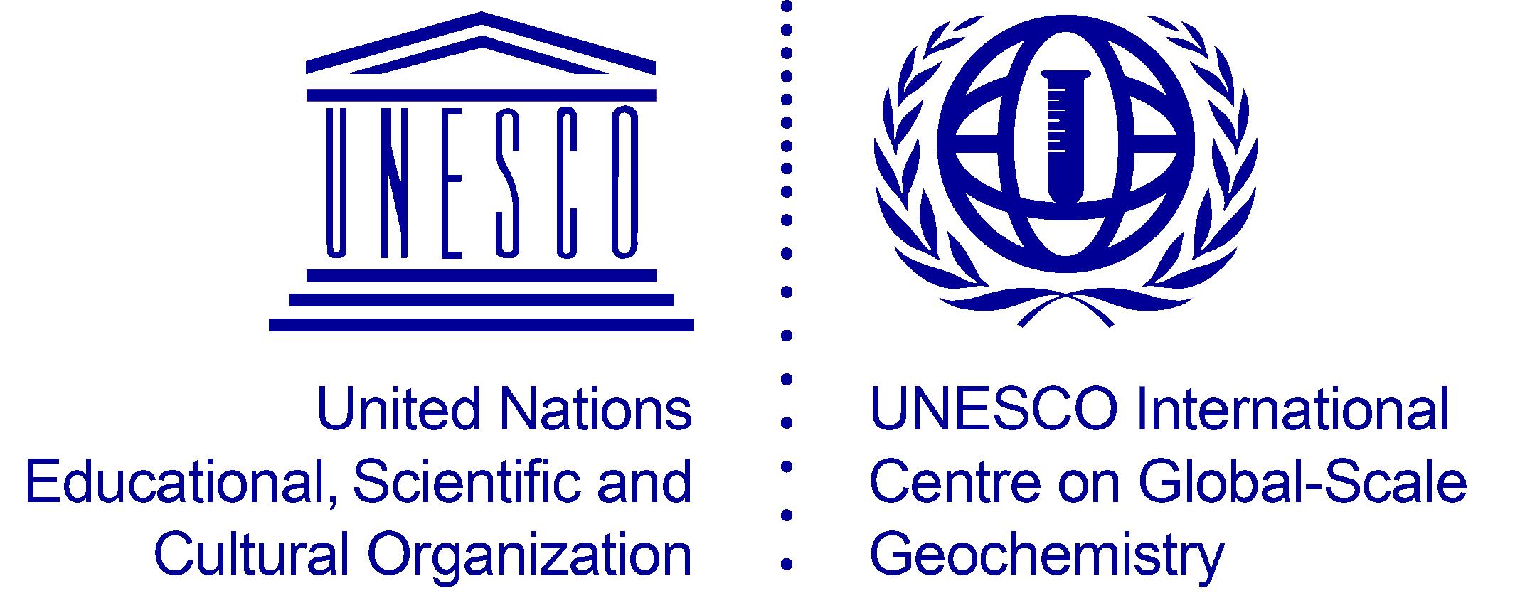 logo for International Centre on Global-Scale Geochemistry