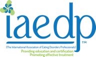 logo for International Association of Eating Disorders Professionals