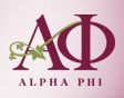 logo for Alpha Phi International Fraternity
