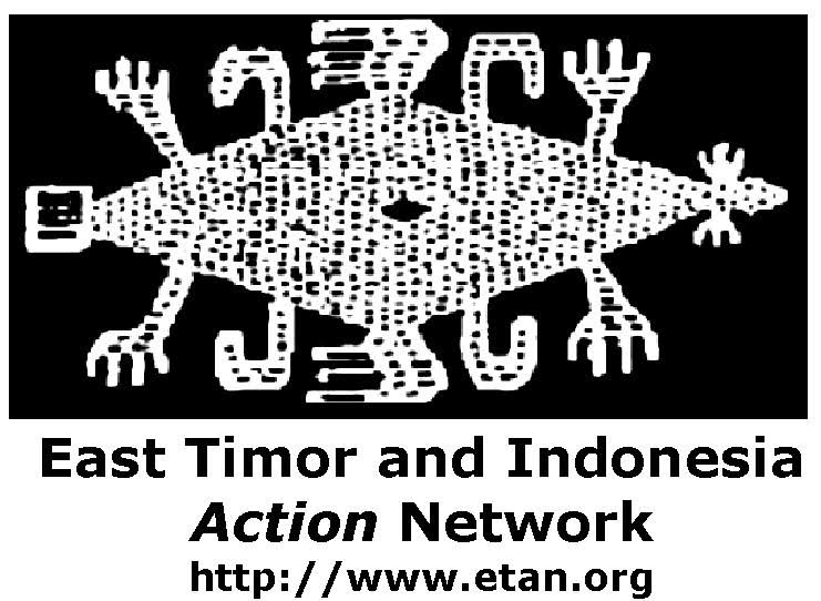 logo for East Timor and Indonesia Action Network