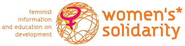 logo for Solidarity among Women - Development Initiatives for Women in the Third World