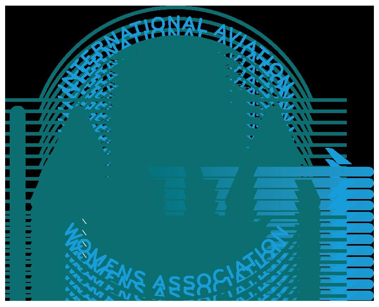 logo for International Aviation Womens Association