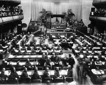 First Assembly of the League of Nations, 1920, Geneva